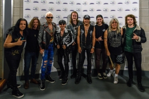 Anchor Lane with the Scorpions at Stone Free Festival (O2 Arena, London) - Photo by Dougie Souness