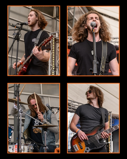 Anchor Lane at Stone Free Festival (Photo by Dougie Souness)
